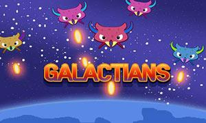 Galactians Space Arcade Game