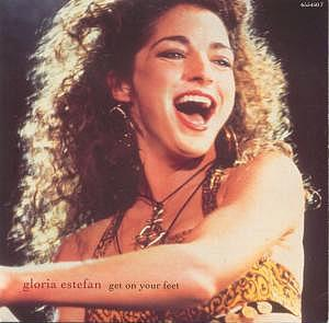Get On Your Feet single sleeve - Gloria Estefan