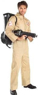 Official Ghostbusters Costume for Men with Inflatable Backpack