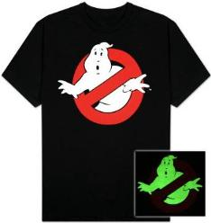Ghostbusters glow in the dark T-shirt for adults