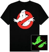 Ghostbusters Glow in the Dark Tee Shirt