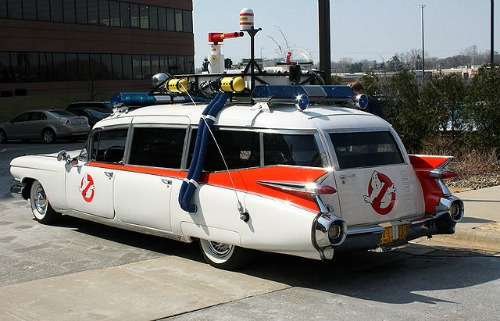 Ghostbusters Car - Ecto 1