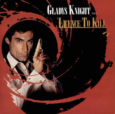 Gladys Knight - License To Kill single from 1989 ft. Timothy Dalton