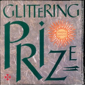 Glittering Prize 12 inch vinyl sleeve front - Simple Minds