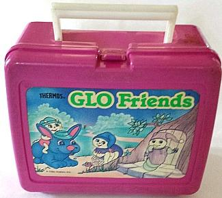 Thermos Glo Friends lunch box from 1986