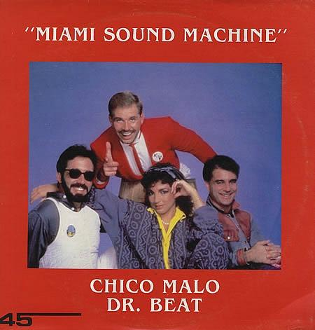 Dr. Beat vinyl single - Miami Sound Machine and Gloria Estefan