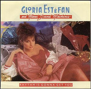 Gloria Estefan in the 80s