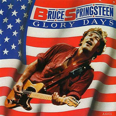 Bruce Springsteen Glory Days single sleeve