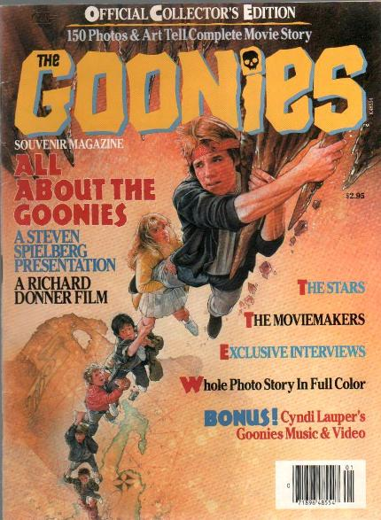 The Goonies souvenir magazine from 1985