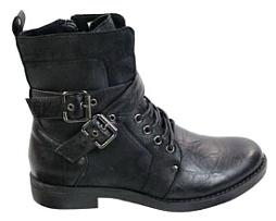 Mens Goth Punk Ankle Boots