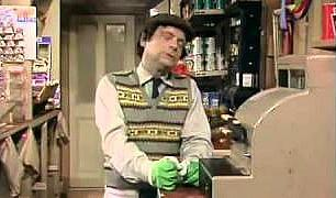 Granville and the dangerous till in Open All Hours