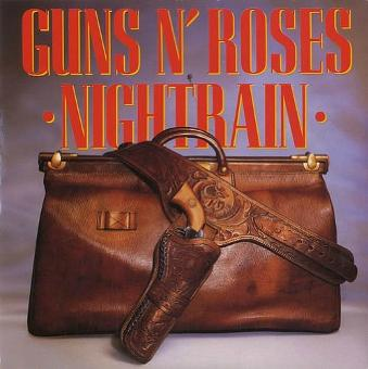 Nightrain single sleeve - Guns N Roses