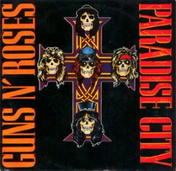 Guns N' Roses - Paradise City - Single Sleeve Front