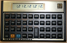 HP12c - 80s calculator