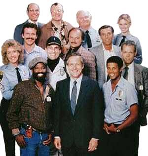 Hill Street Blues cast from 1986