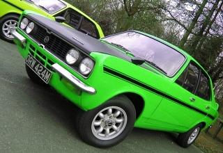 Lime green Hillman Avenger Tiger Mk2