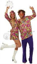 Hippy Couple - guy and girl costumes