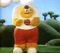 The Honey Monster in an 80s Sugar Puffs TV advert