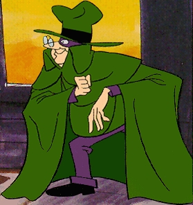 The Hooded Claw from Wacky Races 70s Cartoon
