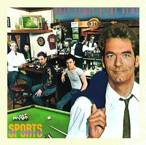 Sports Vinyl sleeve - Huey Lewis