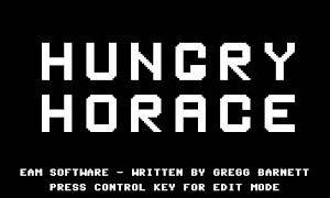 Hungry Horace Computer Game Review