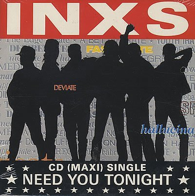 INXS - Need You Tonight (CD Maxi Single)