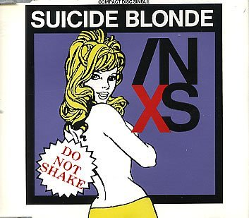INXS - Suicide Blonde (CD single)