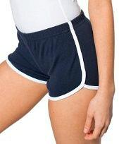 Retro 80s Interlock Running Shorts