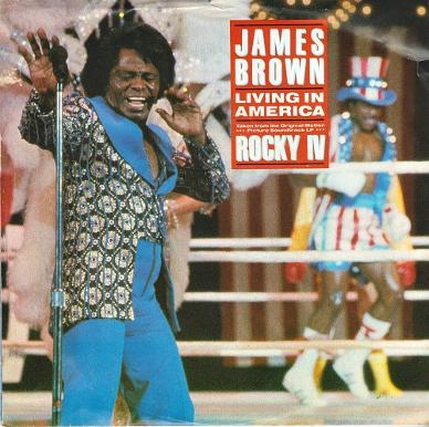 James Brown - Living in America (1986) vinyl single