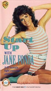 Start Up with Jane Fonda 1986 VHS Video