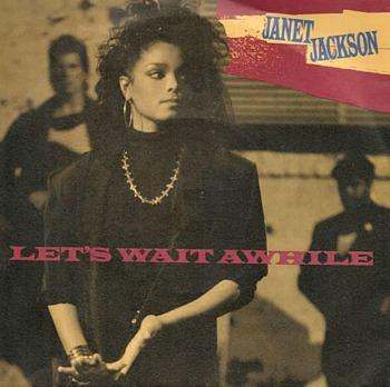 Let's Wait Awhile - Janet Jackson (1987) single sleeve