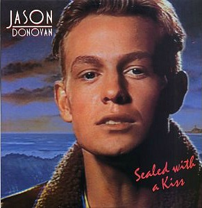 Jason Donovan Sealed With A Kiss single sleeve front