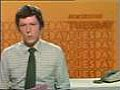 John Crave presenting Newsround in the 1970s