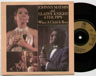 Johnny Mathis and Gladys Knight & The Pips - When A Child Is Born vinyl