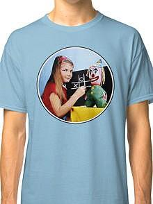 BBC TV Test Card Girl and Clown T-shirt (Unisex)