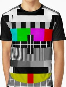 All Over Retro TV Test Pattern Shirt