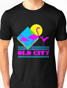 Miami Vice style Old City T-shirt for Men