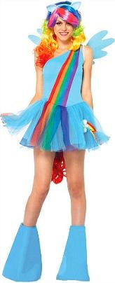 My Little Pony Rainbow Costume for Women Adults