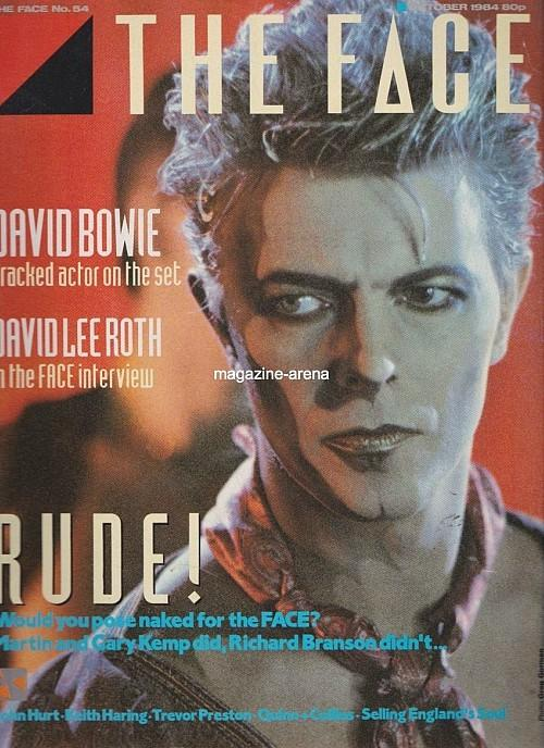 David Bowie - The Face - October 1984