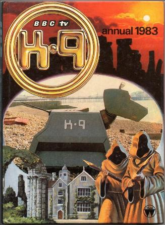 K-9 Doctor Who BBC TV Annual 1983