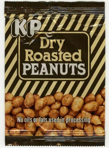 KP Dry Roasted Peanuts packet from the 1980s