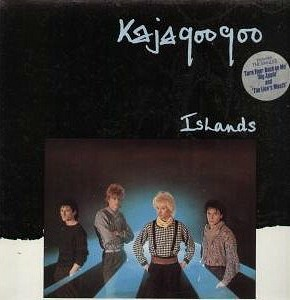 Islands vinyl album sleeve Kajagoogoo