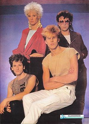Kajagoogoo poster from the 80s