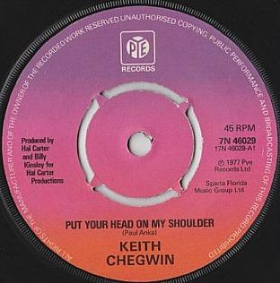 Keith Chegwin - Put Your Head On My Shoulder (1977) - 7