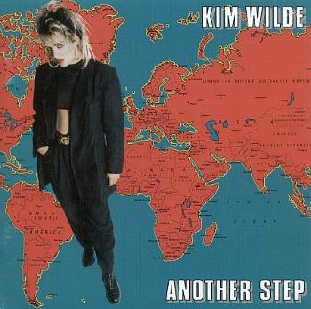 KIm Wilde - Another Step (1986 album sleeve)