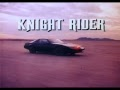 Kinight Rider - 80s TV Title Screen