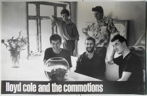 Lloyd Cole and the Commotions rare poster