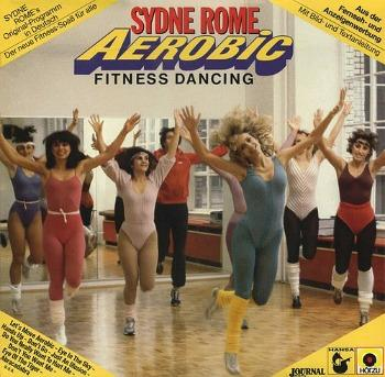 80s fitness dancing class