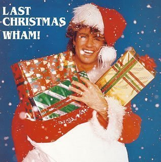 Last Christmas vinyl sleeve ft. George Michael