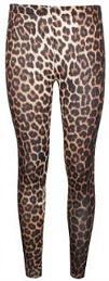 1980s Animal Print Leggings